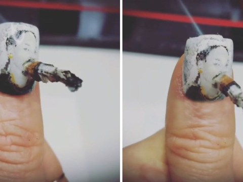 You can now get weed nails that actually smoke