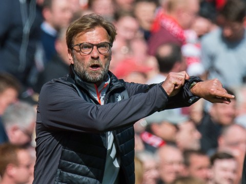 Jurgen Klopp gets annoyed with Liverpool fans in closing stages of Everton victory