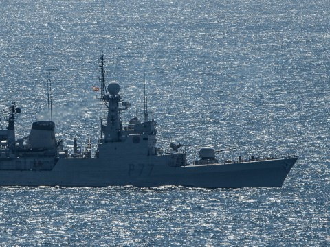 Royal Navy chases Spanish boat out of British waters off Gibraltar