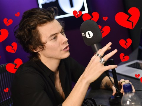 Harry Styles tells Nick Grimshaw 'I love you' after stunning debut of solo single Sign of the Times