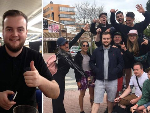 Group invite stranger on holiday with them after friend with same name pulls out