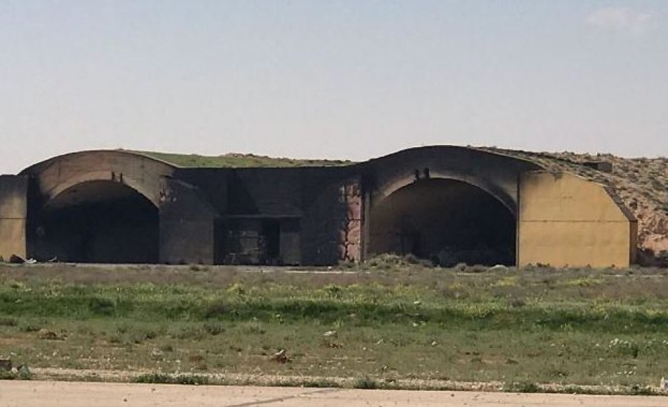First pictures show aftermath of US air strikes against
