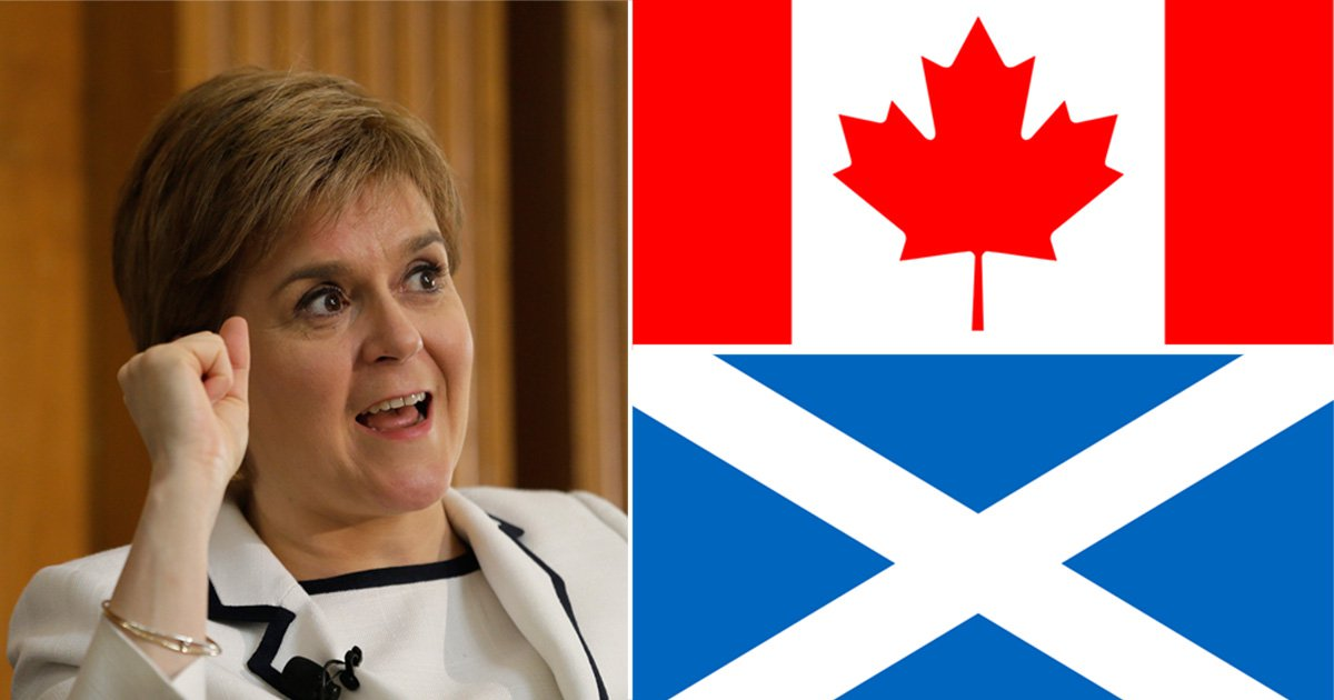 Scotland should ditch the UK for Canada following second referendum, says author