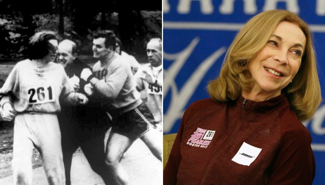 1st woman to officially run Boston Marathon to do it again, 50 years later