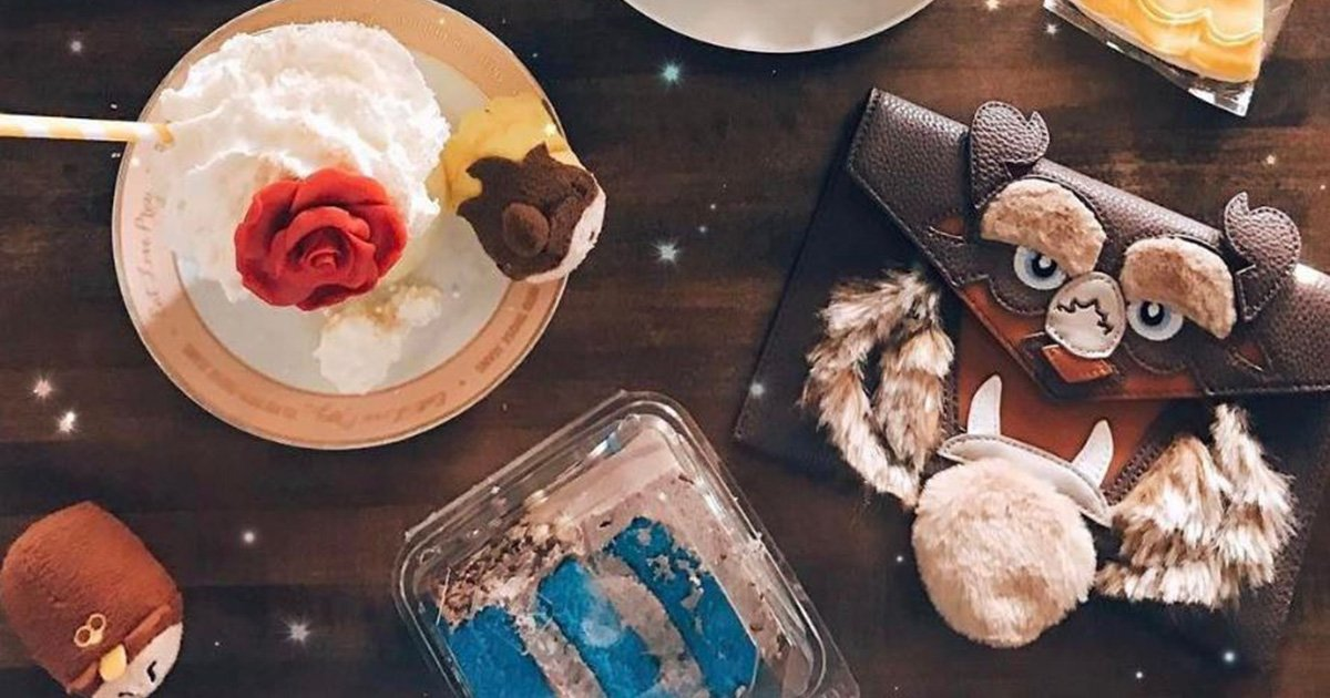 This cafe has released a Beauty and the Beast menu and it all looks magical