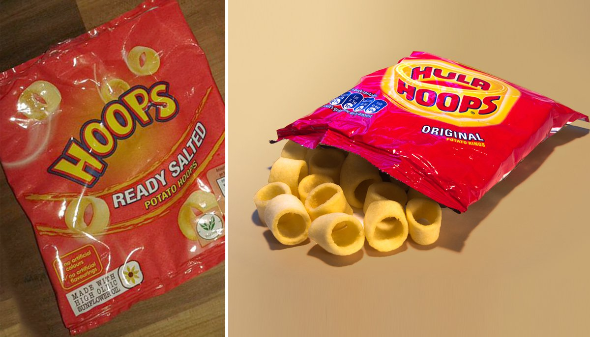 comp - hula hoops crisps aldi - This is why you like hula hoops from aldi (Picture: wikipedia/ twitter)