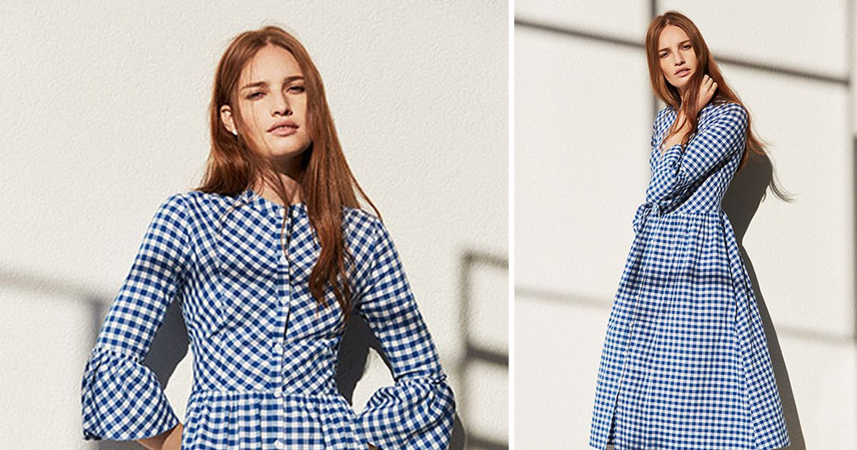 4b7cf7cd14 This popular Primark gingham dress is being sold on eBay for double its  original price