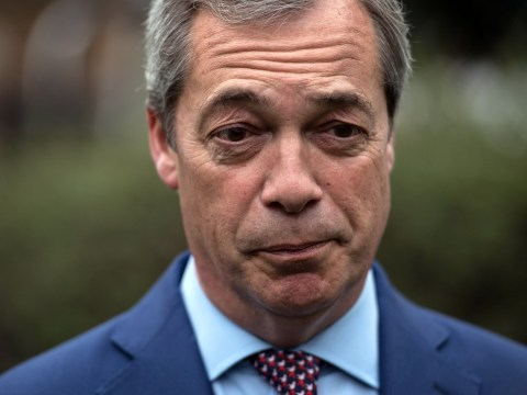 Nigel Farage rules out standing as candidate in the general election