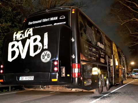 Man admits bombing Borussia Dortmund team bus