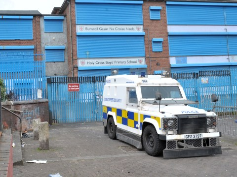 Bomb 'capable of causing death' found at primary school gates