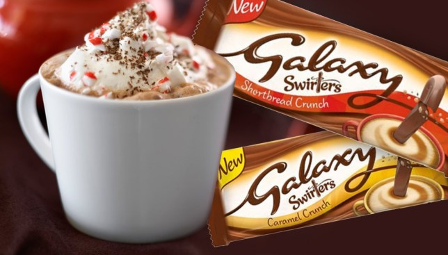 Galaxy Launches New Swirlers Perfect For Hot Drinks So
