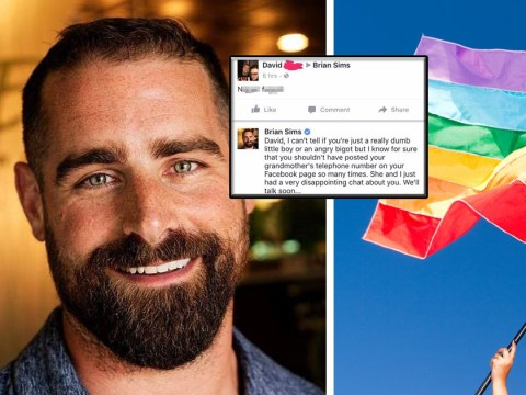 Politician calls homophobe's grandma after being trolled by him