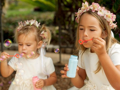 Getting married? 10 ways to keep children entertained during your wedding day