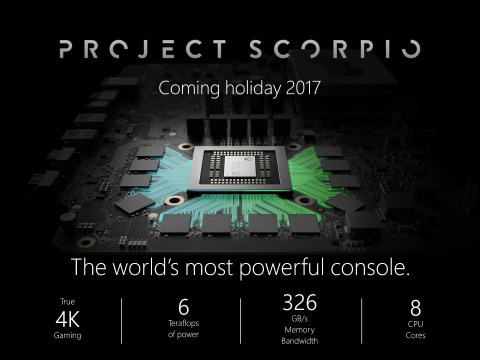 Project Scorpio final specs prove it's more powerful than PS4 Pro