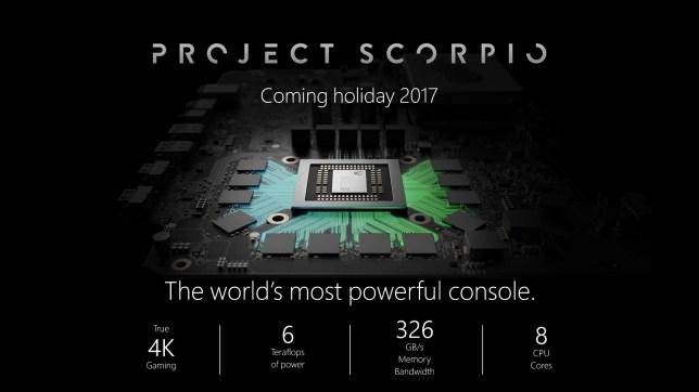 Project Scorpio - the Xbox One reborn
