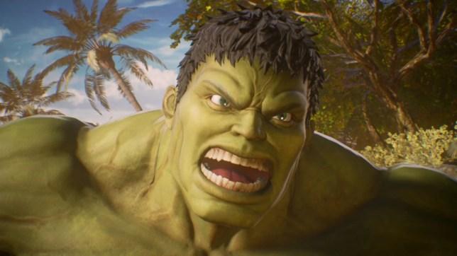 Marvel Vs. Capcom: Infinite - Hulk look smashing