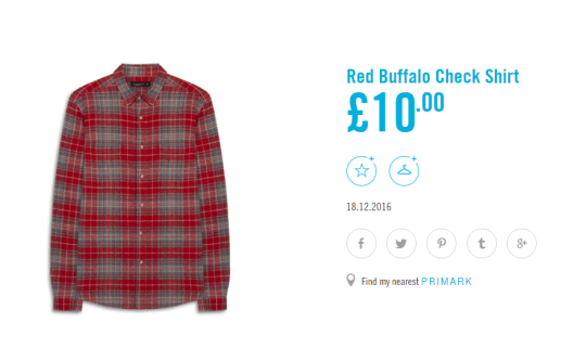 c9831e38d250 This relatively similar shirt is priced at just £10. So you could buy 4.5  of these