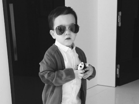 Simon Cowell boasts his three-year-old son Eric is a charmer and already has five girlfriends