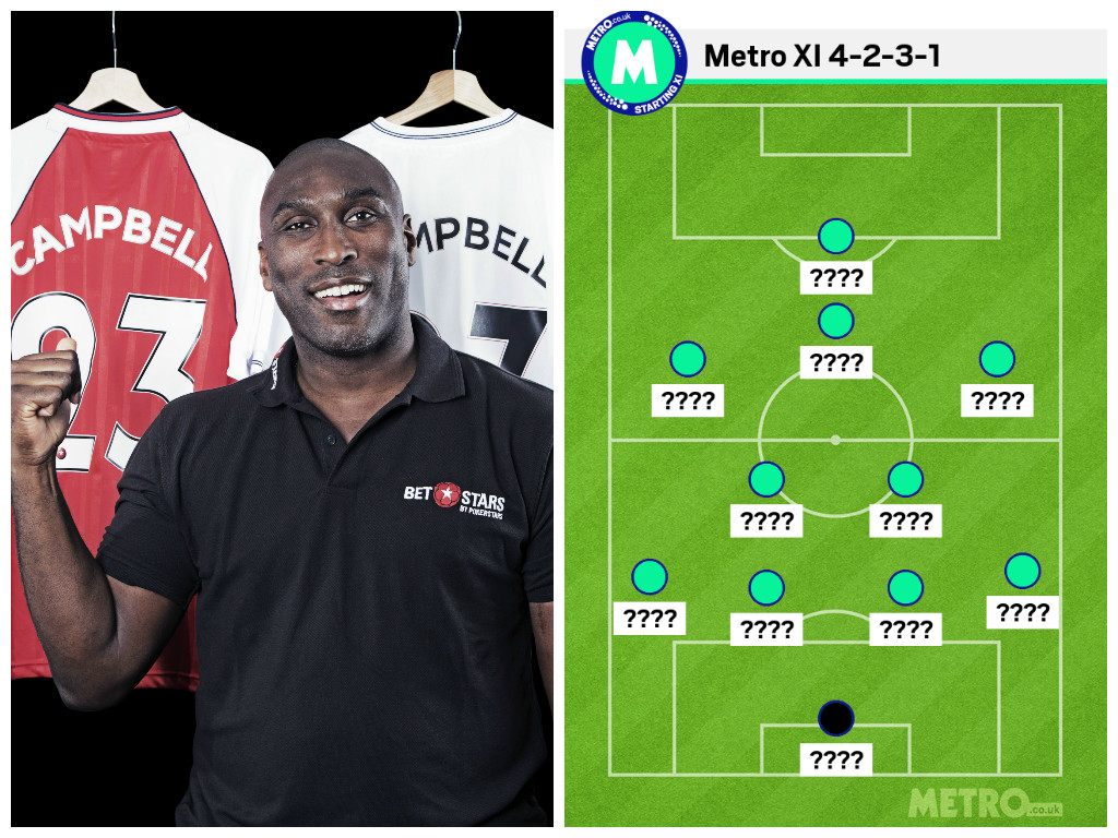 Sol Campbell omits Mesut Ozil and Mousa Dembele from Spurs v Arsenal combined XI