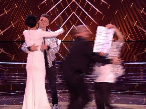 The Voice UK live final interrupted by a stage invader as Jamie Miller is eliminated