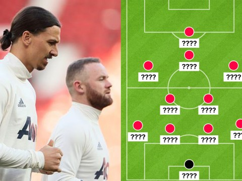 How might Manchester United line up against Everton this week?