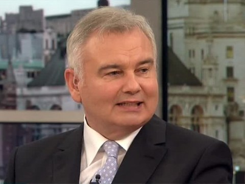 Eamonn Holmes jokes Ruth Langsford is making them sleep in separate beds during Good Morning Britain stint