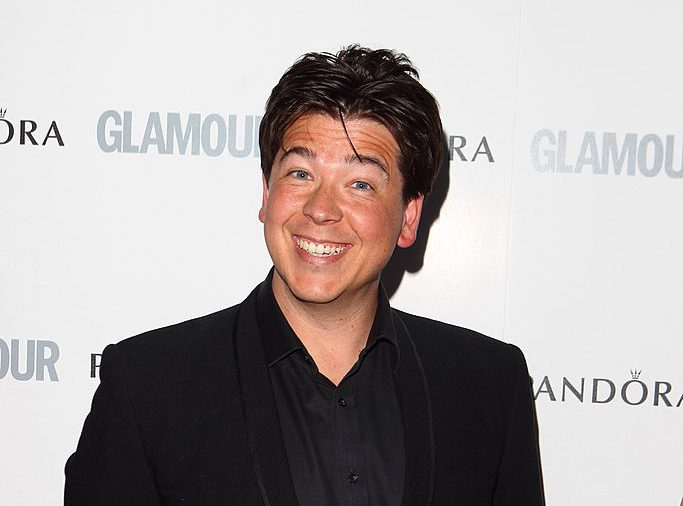 Who is on Michael McIntyre's Big Show on Christmas Day?