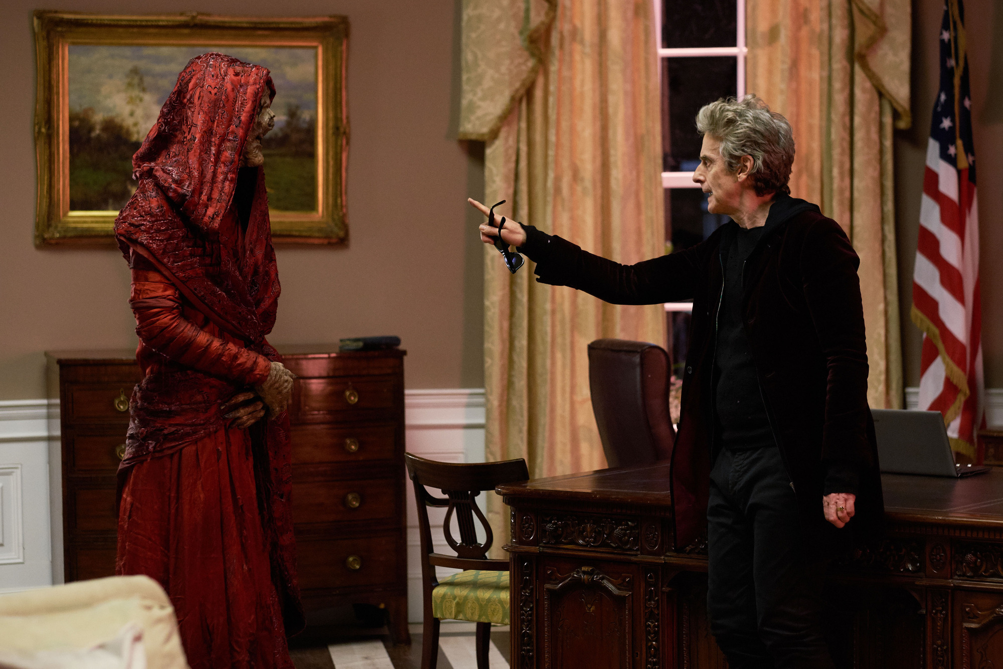 Monk, The Doctor (PETER CAPALDI)