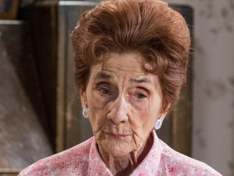 EastEnders legend June Brown aka Dot Branning is going to splash her face with pee on TV