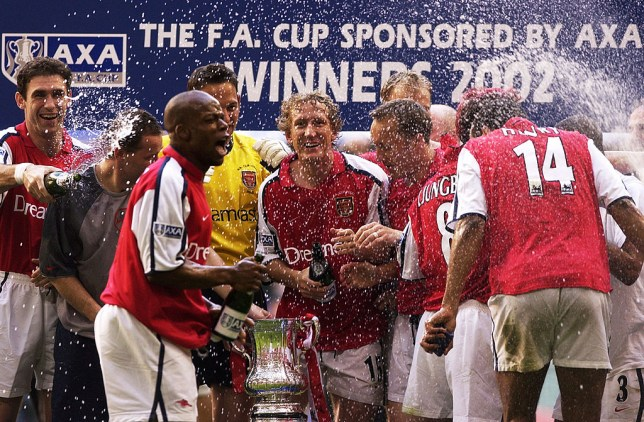 a6e1130dcb7 Arsenal and Chelsea FA Cup final line ups from 2002 – where are they now