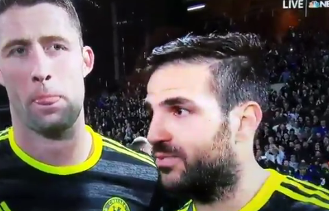 Cesc Fabregas drops the f-bomb after Chelsea clinch title vs West Brom