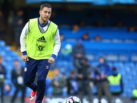 Eden Hazard reveals he was scared prior to Chelsea's win over Everton
