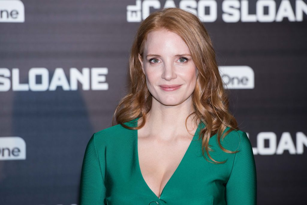 Jessica Chastain did the best eye roll when she learnt Johnny Depp's line learning trick