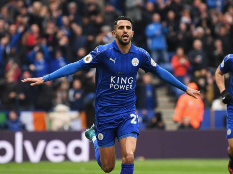 Leicester City insist only 'substantial' fee will snare Arsenal target Riyad Mahrez
