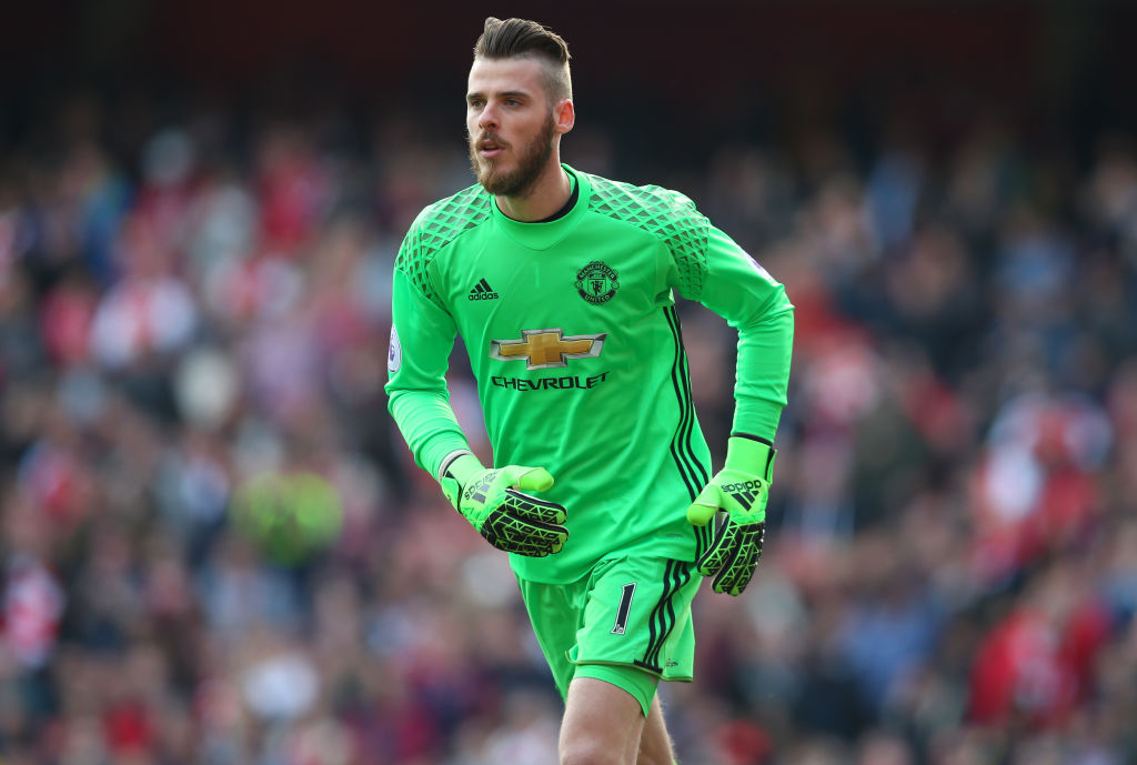 Manchester United reject £60m offer for David De Gea from Real Madrid