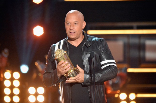 Vin Diesel remembered his 'brother' Paul Walker at the MTV Movie And TV Awards (Picture: FilmMagic)