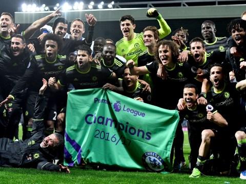 West Brom 0-1 Chelsea: Michy Batshuayi goal hands Blues the Premier League title