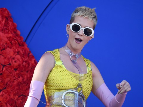 Katy Perry smacks shocked fan in the face with one epic kick