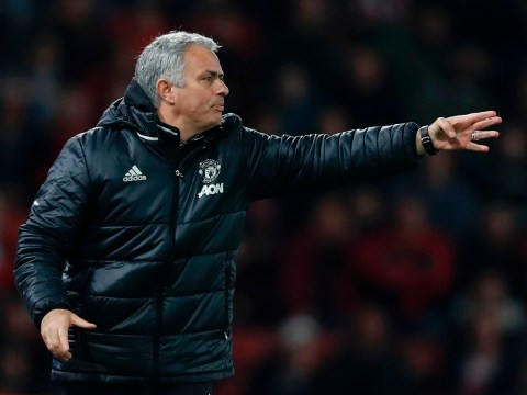 Jose Mourinho names the SIX Manchester United reserve players he'll use against Crystal Palace