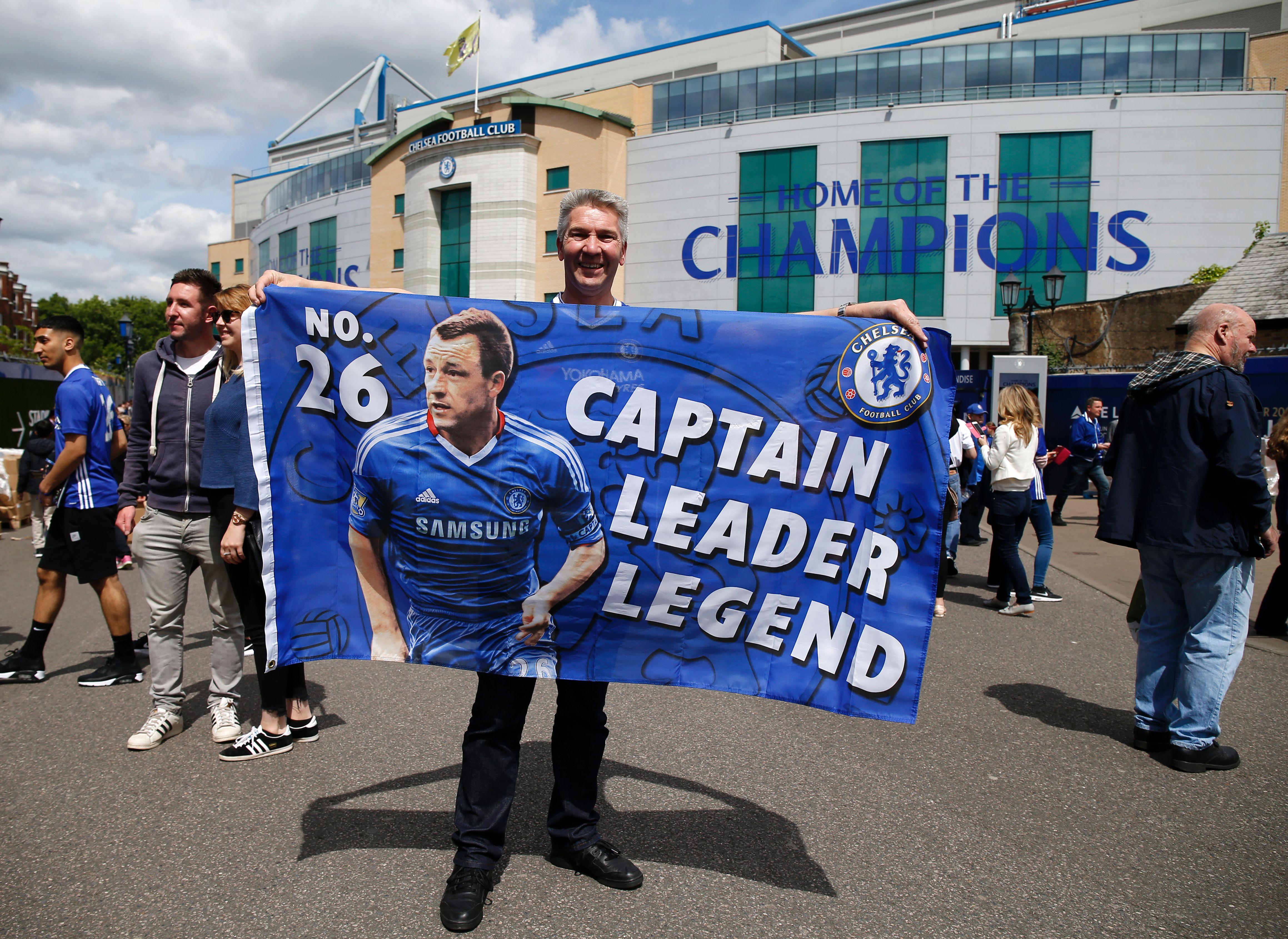 Chelsea v Sunderland team news: John Terry starts in final game for club