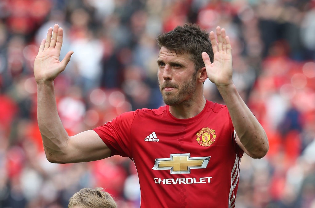 Manchester United name Michael Carrick as new club captain after Wayne Rooney departure