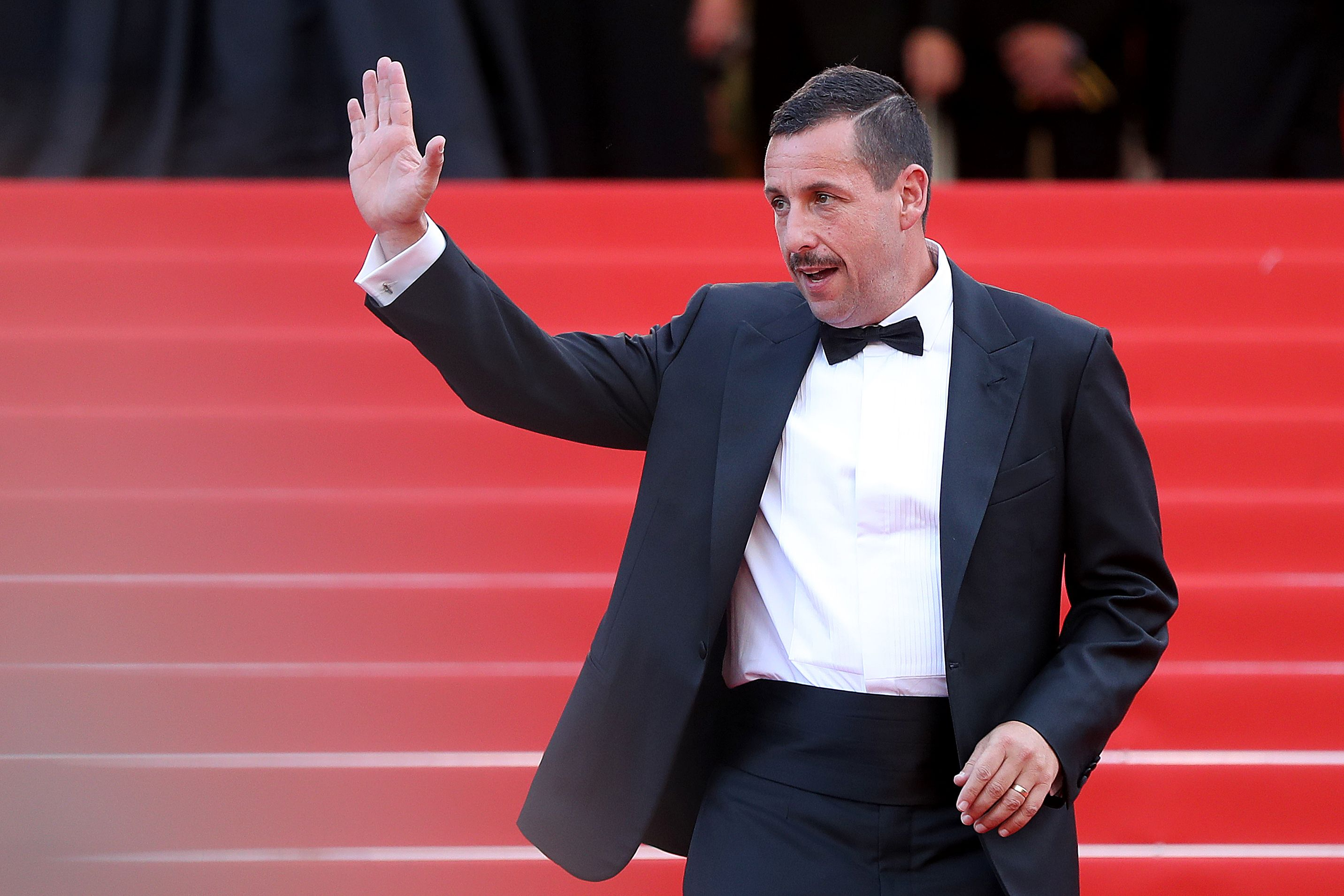 Adam Sandler receives a standing ovation at Cannes Film Festival