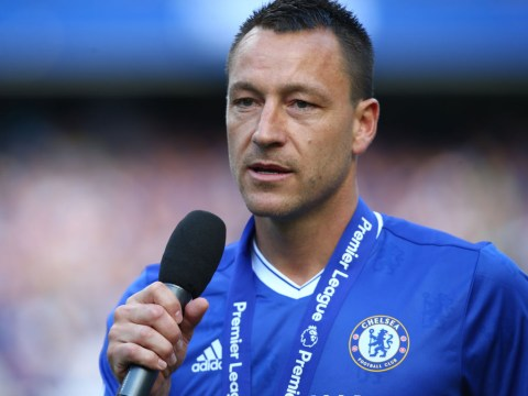 John Terry says he 'couldn't care less' about critics of 26th minute Chelsea substitution