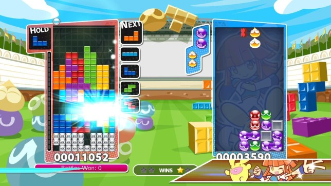 Puyo Puyo Tetris (NS) - when puzzles collide