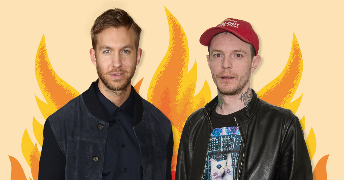 Deadmau5 launches scathing attack on Calvin Harris as he claims EDM is being 'raped by pop music'