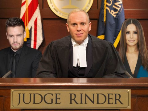 Judge Rinder is 'delighted' that he's found a fan in Cheryl and Liam Payne