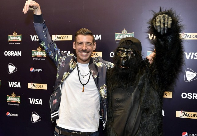 Finland Out, No Third Party Sales Mandatory Credit: Photo by Jussi Nukari/REX/Shutterstock (8792645bb) Italian Francesco Gabbani 62nd Annual Eurovision Song Contest, Kiev, Ukraine - 07 May 2017