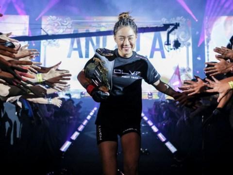 ONE Championship's Angela Lee 'all for' a showdown with UFC Champion Jedrzejczyk