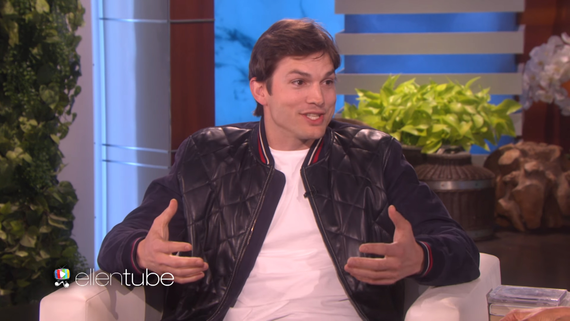 Ashton Kutcher explains why his daughter may just 'kill' her baby brother with love