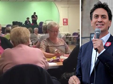 Ed Miliband has a new job – as a bingo caller